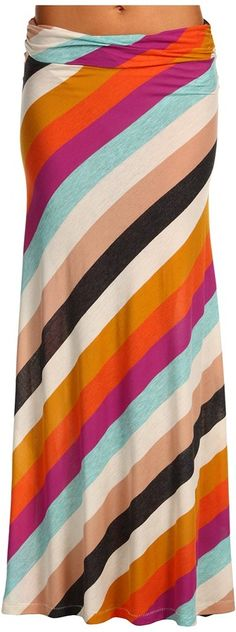 Alternative Apparel - Seneca Maxi Skirt (Tropics Stripe) - Apparel for Sale. Link to Buy but Out of Stock :(