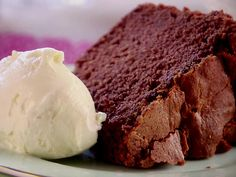 Chocolate Pound Cake Recipe : Trisha Yearwood : Food Network