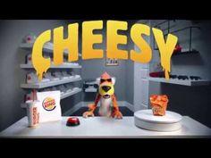 Watch Chester Cheetah unbox Burger King's Mac n' Cheetos.