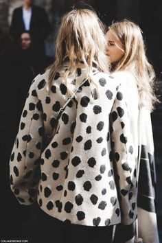 PATTERNS // lonely coco // #fashion #patterns #dots #coat #style