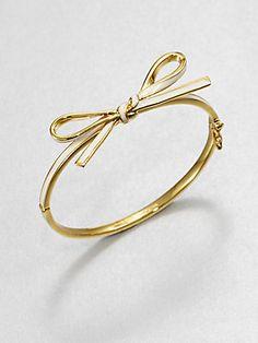 #Bows - Kate Spade New York Polished Bow Bracelet #katespade