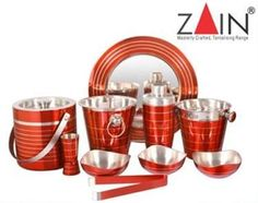 "Magickart offering ""Zain"" branded colour full bar accesories sets online with free shipping in India."