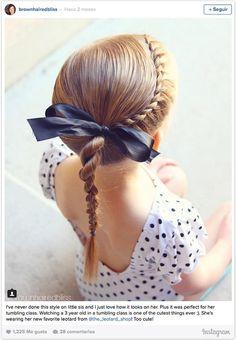 Doce ideas de peinados recogidos para que tus hijas estén cómodas y... ¡muy guapas! este verano