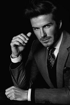 David Beckham...wonder if victoria gets tired of looking at him. I sure don't.