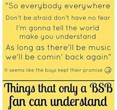 Everybody - Backstreet Boys Backstreet Boys Lyrics, Backstreet's Back, Five Guys, Boy Quotes, 90s Kids, Bad Timing, Music Love, Music Lyrics, Happy Thoughts