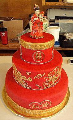 chinese wedding | Chinese Wedding Cake picnik - Cake Decorating Community - Cakes We ...