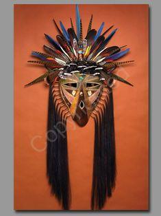 """*Gourd Art - """"Antelope Hunter"""" by Dave Sisk"""