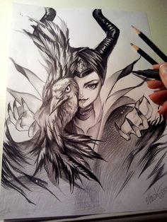 Maleficent by Naschi.deviantart.com on @DeviantArt