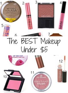 The BEST Makeup Products Under $5