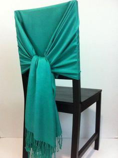 Jade-Green pashmina pashmina scarf pashmina by WeddingShawls