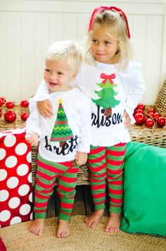 Bold, Festive Designs for the holidays! For Christmas and Thanksgiving, our NEW Holiday Designs offer some adorable options for your little ones.