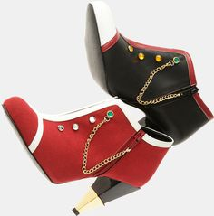 "WANT - Boots Inspired by Utena and Anthy from ""Revolutionary Girl Utena"""