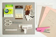 SUPPLIES:  S'mores items: chocolate candies, Cinnamon Toast Crunch, and mini-marshmallows 3″ x 4″ Treat Bags 8.5″ x 11″ cardstock in your choice of color Glue Dots Edge Punch or Decorative Scissors Paper Trimmer/Scissors Scoring Board Craft Knife Stapler Our FREE download design at the bottom of the post!