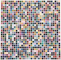 Gerhard Richter  1024 Colors