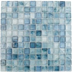 beautiful glass tile for borders. maybe shower floor