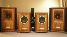 High end audio audiophile Tannoy speakers