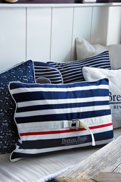 Classic Breton Pillow 65x45 €49,95