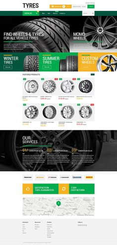 Wheels and Tyres Shopify Theme New Screenshots BIG