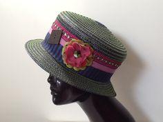 """Défi créatif """"La fête des vendanges """" : Chapeau, bonnet par creation-valerie-castets"""