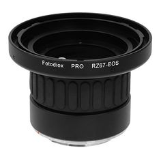 Fotodiox Pro Lens Mount Adapter with Focusing Barrel, Mamiya RZ67 Lens to Canon EOS Camera such as EOS 7D, 60D
