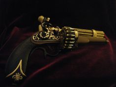 """Admiral Nelson's Pepperbox A.K.A """"Lil' Iron Sides"""". $500.00, via Etsy."""