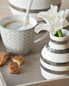 Kaffee hübsch serviert