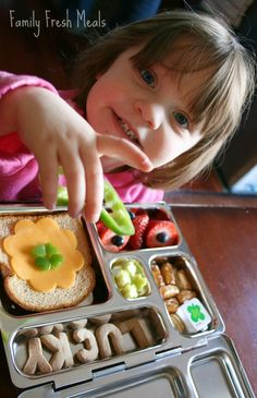 Bento Love: St. Patrick's Day Lucky Lunch - Family Fresh Meals