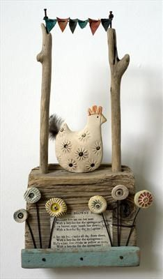 The Browney Hen - Shirley Vauvelle