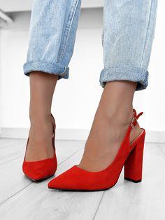 Γόβες Μυτερές Κόκκινες - You Raise Me Up Pumps, Heels, Dresses, Fashion, Heel, Vestidos, Moda, Fashion Styles, Pumps Heels