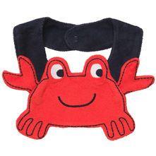 Crabby Teething Bib