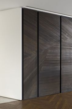 wardrobe doors | joinery detail | veneer | Tristan Auer- Appartement - architecture intérieure et décoration – création de mobilier Paris