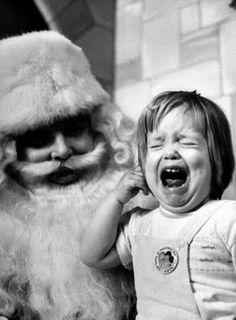 poor kid, poor santa :)