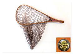 Vintage Cortland Fly Fishing Net, Trout Fishing Fly Fishing Net, Trout Fishing, River Cottage, Vintage Cabin, Fish Swimming, Fun Hobbies, Fishnet, Twine, Mountain