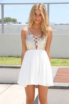 white party dresses - Ecosia