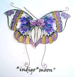 OOAK+Fairy+Pixie+Fantasy+Art+Doll+Wings+ADSG+by+IndigoMoonWings,+$12.00