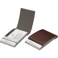 Leather Business Card Case - Unique Corporate Gifts