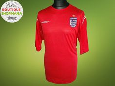 5b584a767 ENGLAND National Away 2004-2006 (3XL) Umbro Football Shirt Jersey Camisa  Soccer