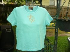 Hand Decorated Short Sleeve TShirt by donnawynschenk on Etsy, $24.00