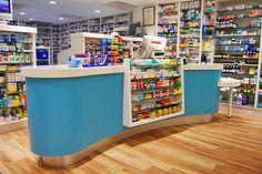Pharmacy Counter Design | Bespoke solutions - Rapeed