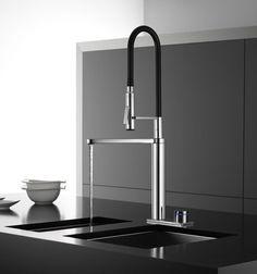 Super sleek multi-use pro faucet/standard kitchen faucet