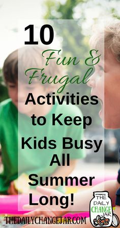 Are you looking for kids activities for summer? Finding fun summer activities for kids doesn't have to be overwhelming. From preschool and educational summer activities for kids, here are 10 fun and frugal ways to keep the kids busy this summer. Summer Activities For Kids, Family Activities, Toddler Activities, Weekend Activities, Indoor Activities, Kindergarten Activities, Summer Fun For Kids, Cool Kids, Kids Fun
