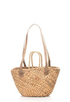Geanta de paie nature cu barete de umar Wicker Baskets, Straw Bag, Sports, Bags, Hs Sports, Handbags, Sport, Bag, Totes