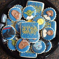 Fancy star wars cookies by Sweet Sugar Belle