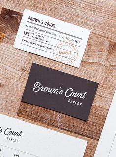 Sweet Treats Chalkboard Bakery Business Card More Bakery
