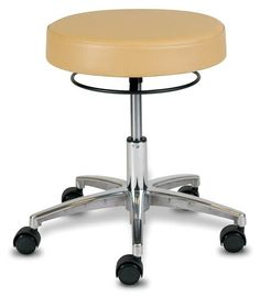 Techno-Aide - BPS-30 - Pneumatic Seat Stool With Locking Casters