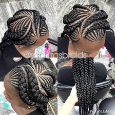 "Search result for ""stitch braids 4 beginners chignon"" - African Braids Hairstyles Wedding Hairstyles With Crown, Try On Hairstyles, Braided Hairstyles For Black Women, Natural Hair Styles For Black Women, African Braids Hairstyles, My Hairstyle, Teenage Hairstyles, Afro Hair Style, Curly Hair Styles"