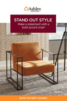 Make your space stand out from the crowd! 💥 With the addition of a distinctive statement piece, your room can go from zero to hero in the blink of an eye. Why wait when you can make your statement today! ⚡️ #accentchair #statement