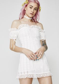 2a658188187 For Love & Lemons Anabelle Eyelet Laceup Dress cuz you're living the  dream. Default Store View