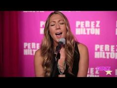 "I want to see Colbie Caillat sing this song live!!  I've seen her, but not performing this song.    Colbie Caillat  - ""Try"" (Acoustic Perez Hilton Performance)"