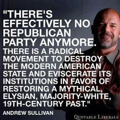 This is coming from conservative pundit Andrew Sullivan... - Democratic Underground